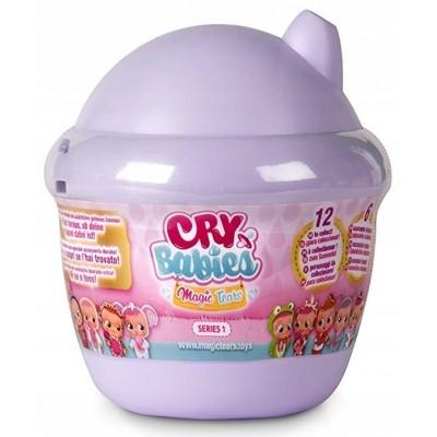 CRY BABIES MAGIC TEARS MINI LALKA DOMEK FIOLETOWY