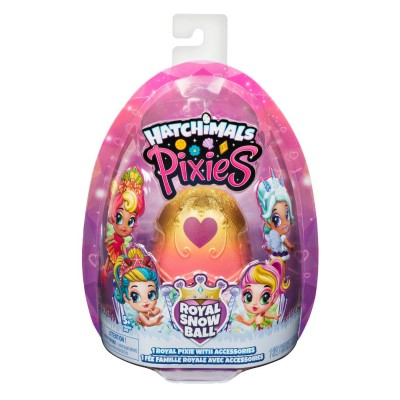 HATCHIMALS PIXIES ROYAL SNOW BALL ZŁOTA