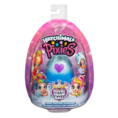 HATCHIMALS PIXIES ROYAL SNOW BALL NIEBIESKA