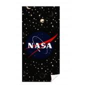 RĘCZNIK NASA AGENCJA KOSMICZNA CZARNY 70 x 140