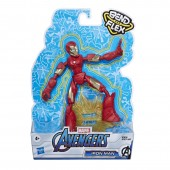 FIGURKA AVENGERS BEND AND FLEX IRON MAN