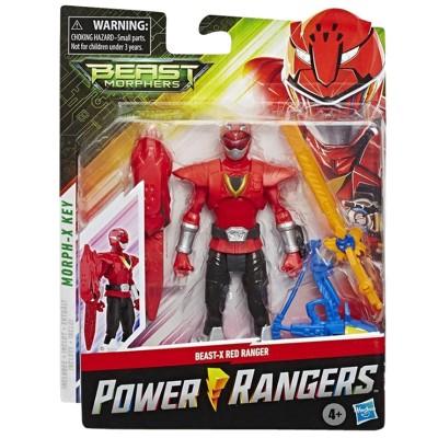 FIGURKA POWER RANGERS BEAST-X RED RANGER