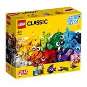 LEGO CLASSIC KLOCKI BUŹKI OCZY MINKI 11003