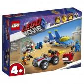 LEGO MOVIE 2 WARSZTAT EMMETA I BENKA 70821