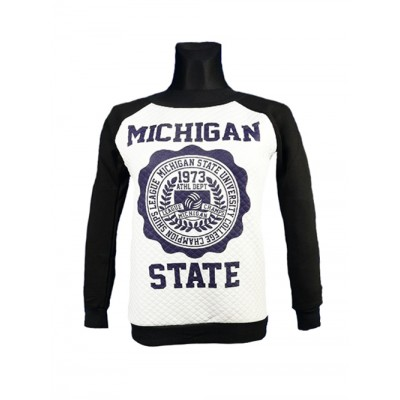 BLUZA BEZ KAPTURA BLUZKA MICHIGAN STATE